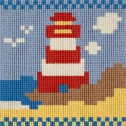 Elizabeth Bradley, For Children, LIGHTHOUSE - 6x6 pollici
