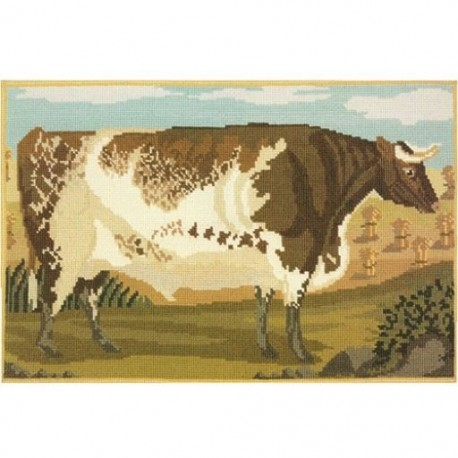 Elizabeth Bradley, Beasts of the Field, SHORTHORN OX - 20x13 pollici