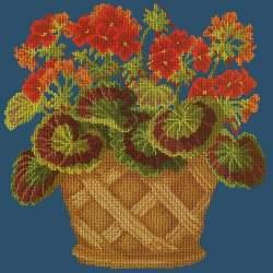 Elizabeth Bradley, Flower Pots, GERANIUM POT - 16x16 pollici
