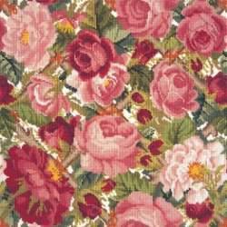 Elizabeth Bradley, Trellis Series, ROSE TRELLIS - 16x16 pollici