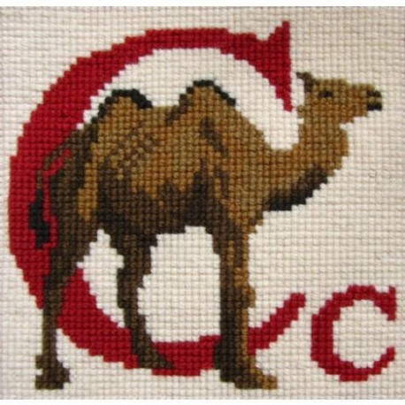 Elizabeth Bradley, Animal Alphabet, C - CAMEL - 6x6 pollici