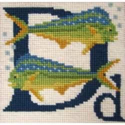 Elizabeth Bradley, Animal Alphabet, D - DORADO - 6x6 pollici