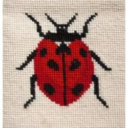 Elizabeth Bradley, Animal Alphabet, LADYBIRD SPACER - 6x6 pollici