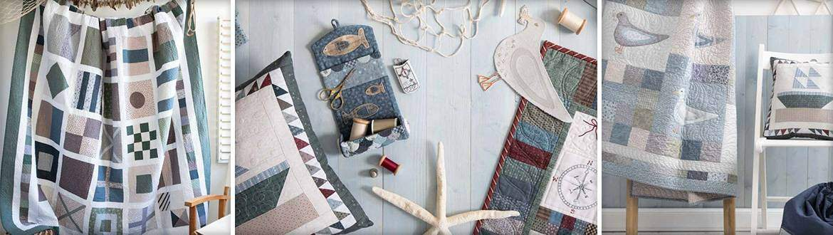Nautical Quilts by Lynette Anderson